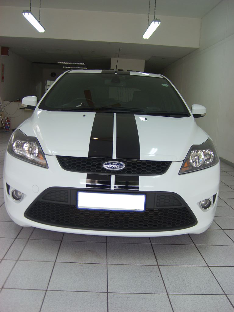Ford Focus ST Racing Stripes