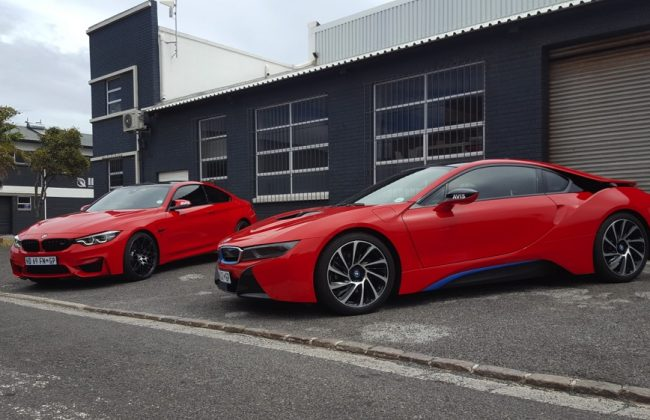 BMW I8 & M4 Full Body Wraps